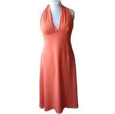 ESCADA Neckholder Kleid Gr. 42 Seide Luxus Designer - 1A Zustand
