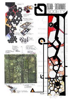 Undergrad Architecture Projects by Anique Azhar, via Behance