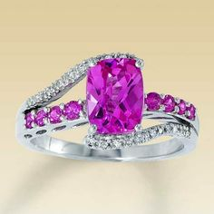 Pink Diamond Engagement Rings Jared Jewelers 20