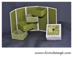 Stampin' UP! Box mit DSP Polka Dot Parade