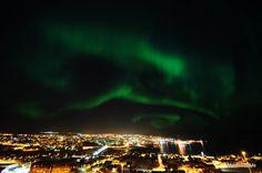Aurora Borealis. Torshavn
