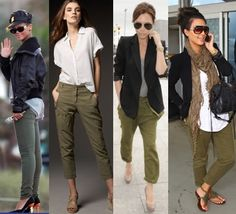 What To Wear With Army Green Skinny Jeans – Discover the different outfits that can be teamed with Army Green Skinny Jeans for a glamorous outfit Olive Green Pants Outfit, Olive Green Jeans, Green Skinny Jeans, Military Green Pants, Green Cargo Pants, Cargo Jeans, Military Style, Boyfriend Jeans Damen, Baggy Jeans Damen