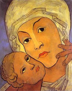 FRANCIS PICABIA, VIRGIN WITH INFANT, C. 1933-35