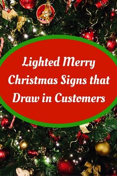 Lighted Christmas Tree Centerpiece Decoration Acrylic Engraved Table Sign Great Gift!