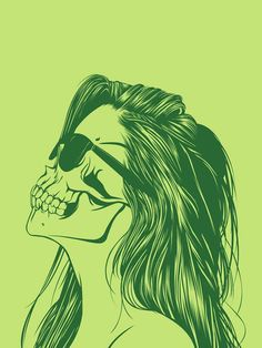 Skull Girls – 14 illustrations de Gerrel Saunders | Ufunk.net