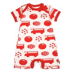 Plastisock Κοντομάνικο Φορμάκι Red Things - Sunnyside I See Red, Bold Colors, Favorite Color, Bodysuit, Ladybugs, Baby, Fashion, Onesie, Moda