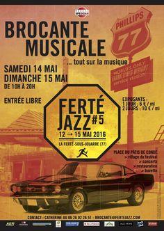 BROCANTE MUSICALE, La Ferté-sous-Jouarre (77260), Seine-et-Marne