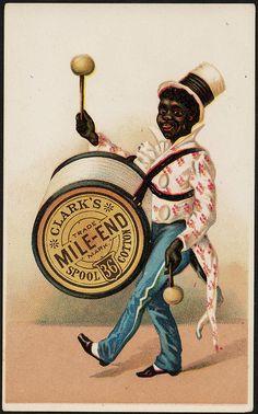 Clark's Mile-End 36 Spool Cotton [front] | Flickr: partage de photos!