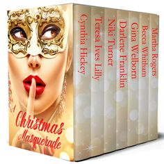 Christmas Masquerade boxed set - on sale! Featuring Love's First Light by Gina Welborn Modern Romance, Hope Love, Historical Romance, Christmas Balls, One Light, Masquerade, Book Worms, First Love, My Books