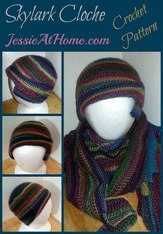 Skylark Cloche Free Crochet Pattern by Jessie At Home