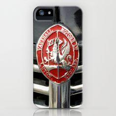 Vintage Vauxhall Car Badge iPhone & iPod Case by Lynn Bolt - $35.00