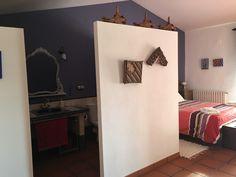 Baño suite buhardilla