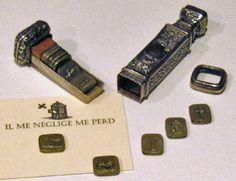 Victorian Antique Wax Seal Stamp set