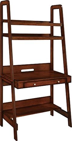 Altra Furniture Platform Wood Veneer Ladder Desk Mahogany *** Learn more by visiting the image link.Note:It is affiliate link to Amazon. #likes4followers