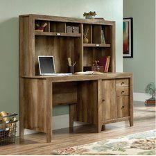 Signal Mountain Computer Desk with Hutch
