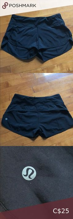 COPY - lululemon shorts Size 4 Black size 4 lululemon run shorts. Built in liner for extra coverage. Zippered pocket. Lightweight material. Draw off at waist for better fit. They have been worn lots but in great condition. lululemon athletica Shorts Lululemon Shorts, Lululemon Athletica, Gym Shorts Womens, Draw, Zipper, Pocket, Running, Best Deals, Fitness