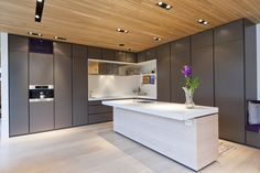 Boform Line, appliances from Miele, top in Corian