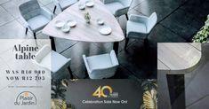 40 years celebration sale now on at Plaisir du Jardin Bryanston ! Garden Furniture, Outdoor Furniture Sets, Outdoor Decor, Lounge Suites, Deck Chairs, Wooden Decks, Terracotta Pots, 40 Years, Outdoor Living