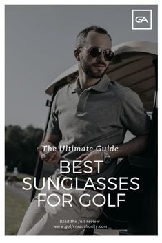 Golf Swing Drills Are you looking for the Best Sunglasses for Golf? Check out our in depth buyers guide to find the best pair of sunglasses for you. Golf Betting, Golf Tips Driving, Golf Putting Tips, Golf Day, Golf Chipping, Golf Instruction, Golf Exercises, Golf Player, Golf Humor