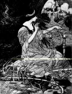 The Lady of Shalott  Charles Robinson