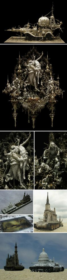 Kris Kuksi: Intricate Art of Gods & Monsters