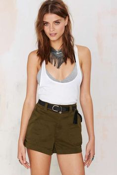 Nasty Gal Erry Day Utility Short - What's New