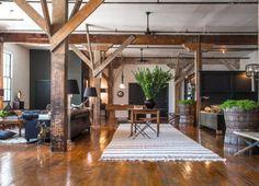 visite d'un loft industriel et vintage à Los Angeles