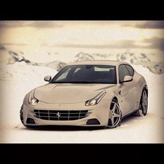 Ferrari FF: Fun in the snow with a Ferrari FF >> Available in Cote d'Azur, French Alps and Paris!