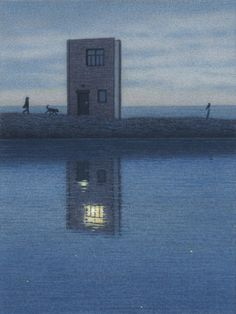 Haus am Strand (House on the Beach) by Quint Buchholz 2013