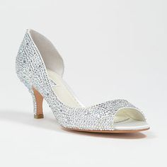 benjamin adams divine ivory  Wedding Shoes