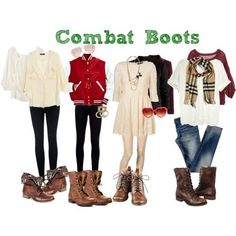 Outfits with Combat Boots | What to wear with your combat boots?..... | Fantabulous!