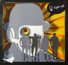 Clockwork orange shadow box night light Special by FairyCherry