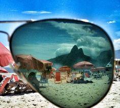 Ipanema beach, morro dois irmaos, Brazil