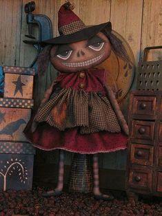 Primitive Witch Doll Pattern