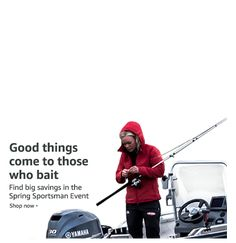Spring Sportsman gear for fishing, hunting, and boating