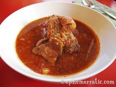 An easy recipe for spicy pork stew, the classic adobo arequipeño recipe from Arequipa, Peru