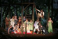 The cast of Into the Woods Image: Joan Marcus. (NYC Summer Art Offerings)