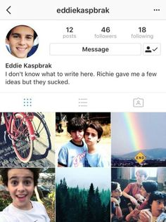 If eddie had instagram part 2 Instagram Accounts To Follow, Stranger Things, Aesthetic Wallpapers, Give It To Me, It Cast, Aesthetics, Polaroid Film, Messages, Club