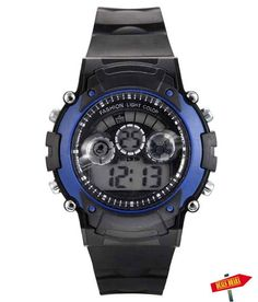 Black Sports Watch deal for 159 INR only - http://www.dealsdhaba.com/deals/black-sports-watch-deal-for-159-inr-only/