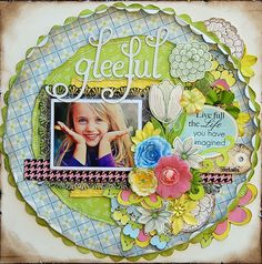 Gleeful *Anna Griffin* - Scrapbook.com