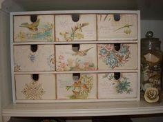 IKEA storage box decorated