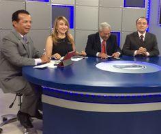 Apresentação do Rede Debate, na RCTV