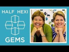 Tutorial-Half Hexi Applique from the #missouristarquiltcompany Oh yes, this is going on my do to list!