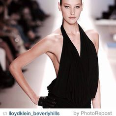 #Lloyd_Klein Runway Highlights from New York Fashion Week - classic re-editions  Lloyd Klein Fan Page | LloydKlein_BeverlyHills Instagram  http://on.fb.me/1nRTAkH