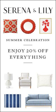 It's a Summer Celebration! Shop Today and Enjoy 20% Off Your Entire Order. Hurry Sale Ends July 4th