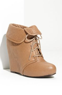 I think these would be useful in my wardrobe. Elizabeth and James nude wedge booties.