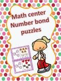 Number bonds puzzles
