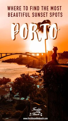 Watch the sunset is one of the things you must do when you're in Porto. Discover the most beautiful sunset spots in Porto, Portugal here! Places In Portugal, Visit Portugal, Best Sunset, Beautiful Sunset, Beautiful Places, Sunset Photography, Travel Photography, Photography Tips, Europe Travel Tips