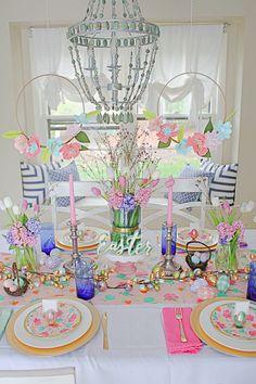 Colorful Easter Celebration Ideas via Sarah Sofia Productions.