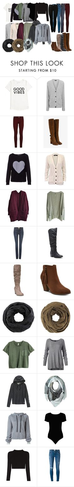 """Fall Essentials"" by gabriellycinderelly ❤ liked on Polyvore featuring Tommy Hilfiger, Joseph, Paige Denim, Gianvito Rossi, Chinti and Parker, Free People, MaxMara, Dr. Scholl's, Victoria's Secret and Michael Stars"